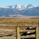 Montana Hunting Lodge Mountain Scenery