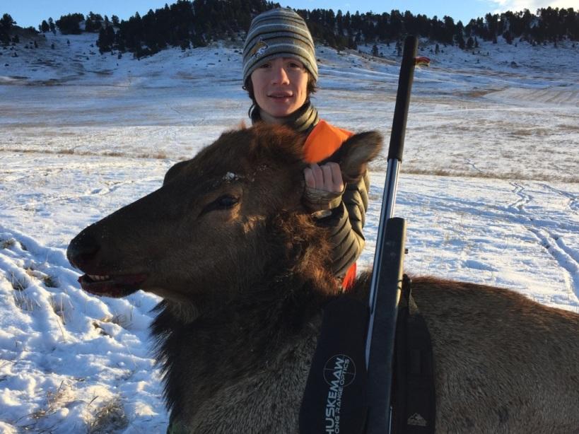 Montana Elk Rifle Hunting
